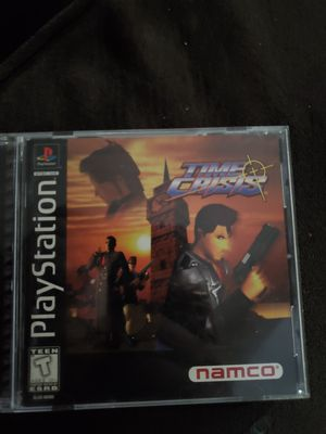 Time crisis (complete) PS1 for Sale in Portland, OR