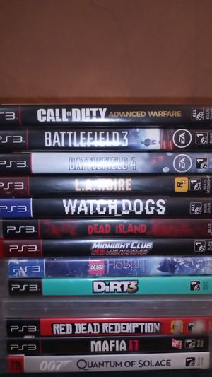 PS3 games selling as a lot! for Sale in Shamokin, PA