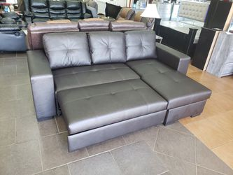 Sleeper sectional with storage for Sale in Orlando,  FL