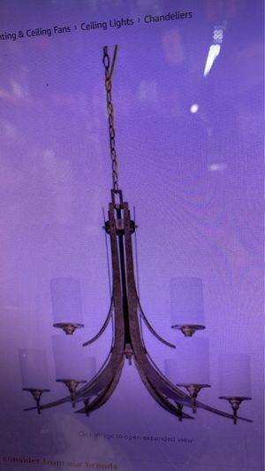 Sunset Lighting F1267-37 Nine Light Chandelier, Weather Bronze Finish for Sale in Los Angeles, CA