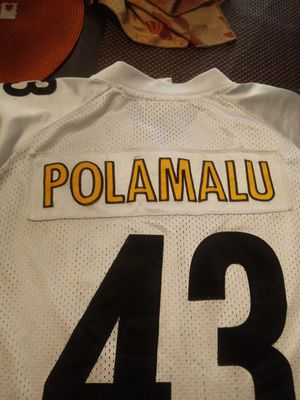 "Pittsburgh Steelers "" Troy Polamalu "" Jersey for Sale in Palmdale, CA"
