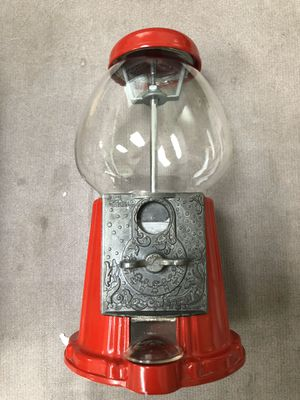 Antique Carousel Glass Junior Gumball Machine for Sale in San Diego, CA