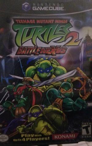 Teenage Mutant Ninja Turtles 2: Battlenexus (Gamecube) for Sale in Fallbrook, CA