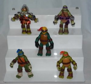 2012 Viacom Tmnt Leonardo Donatello Raphael Michelangelo Action Figures for Sale in Seattle, WA