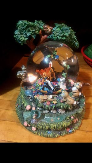 Bambi snow globe for Sale in Brooklyn, NY