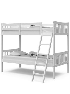Storkcraft Caribou Solid Hardwood Twin Bunk Bed for Sale in Washington, DC
