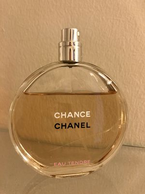 Chanel Chance Eau Tender perfume 3.4oz for Sale in Minneapolis, MN