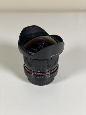 Rokinon 12mm f2.8 EF Ultra Wide Fisheye Lens for Sale in Phoenix, AZ