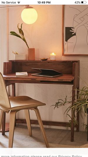 Mid-century fold out desk from urban outfitters:home for Sale in Beverly Hills, CA