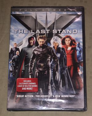 X-men The Last Stand DVD NEW plus 3 more DVD's for Sale in Cedar Grove, NJ