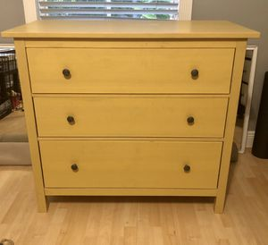IKEA Yellow HEMNES Chest of Drawers DRESSER for Sale in Coral Gables, FL