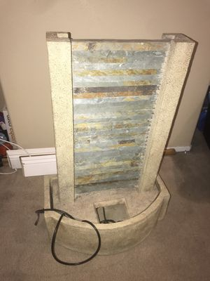 Concrete Indoor or Outdoor Fountain for Sale in Eastvale, CA