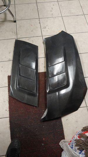 carbon fiber hood vents for Sale in Fullerton, CA