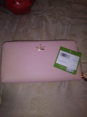 Kate Spade pink zip around wallet original price 189 for Sale in Hercules, CA