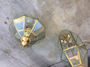 Retro Chandeliers Set of 2 for Sale in North Las Vegas, NV