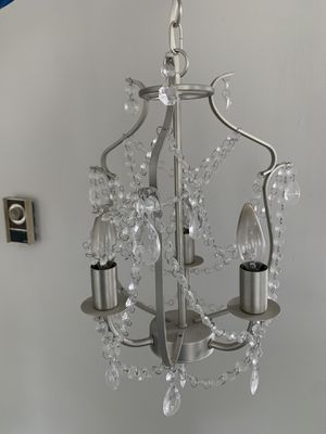 2 Ceiling lights, upscale chandelier look for your home for Sale in St. Petersburg, FL