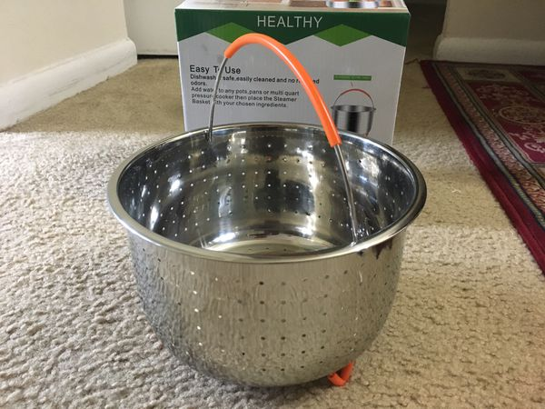 Steamer Basket for Instant Pot and other Pressure Cookers