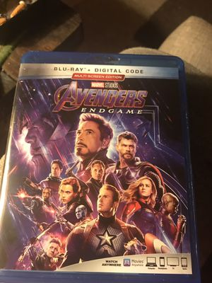 Endgame blu Ray for Sale in Clayton, NC