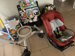 Orbit car seat forward and backwards and stroller for Sale in Port Neches, TX