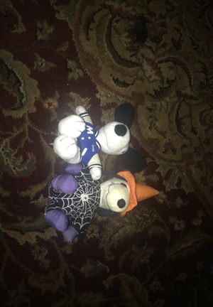 Two snoopy plushies for Sale in East Stroudsburg, PA