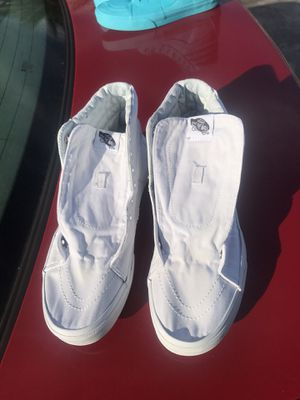 High Top White Vans for Sale in Hahira, GA