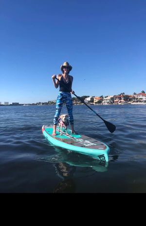 Long SUP Board with Paddles for Sale in St. Petersburg, FL