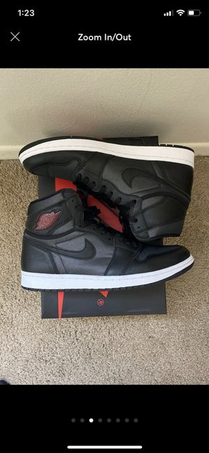 """Jordan 1 """"Satin"""" sz. 10.5 for Sale in Willoughby, OH"""