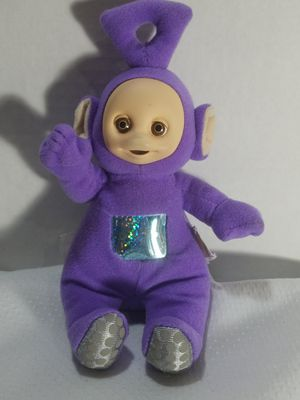 """Teletubbies """"""""Tinky Winky"""" Purple 1998 Baby Rattle Toy for Sale in Grand Blanc, MI"""