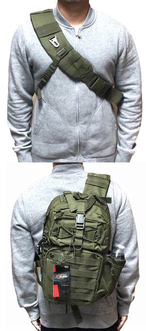 Brand NEW! Olive Green Crossbody/Shoulder/Side Bag/Messenger/Satchel For Work/Traveling/Fishing/Hiking/Biking/Camping/Gifts $23 for Sale in Carson, CA