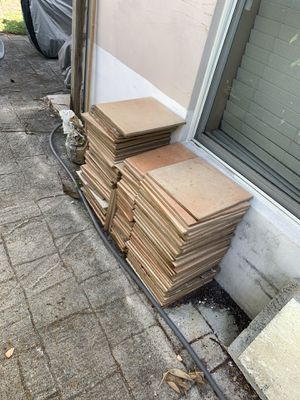 Tiles for free! Just pick them up for Sale in Dania Beach, FL