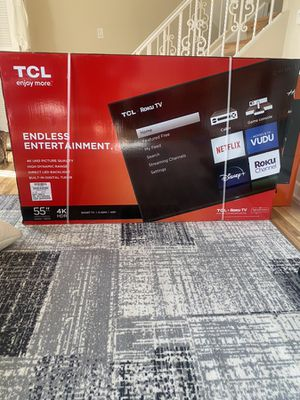 55in 4K TV for Sale in Des Plaines, IL