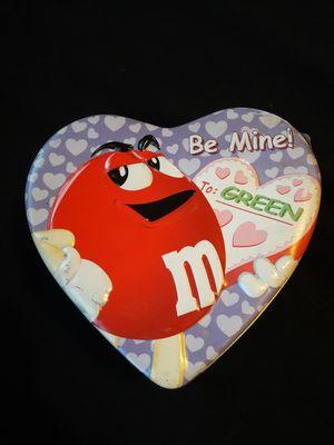 "Vintage M&Ms ""Be Mine"" Valentine's Lunch Pale for Sale in Montebello, CA"