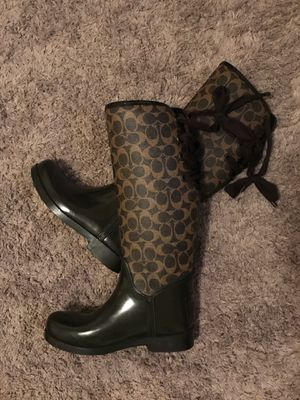 Coach boots for Sale in Rockwall, TX