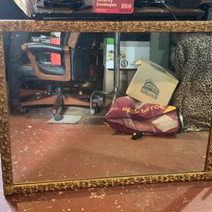 Gold Vintage Gently Used Large Mirrors for Sale in Tacoma, WA