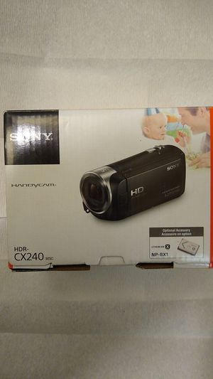 New still boxed Sony Handycam (HDR-CX240) Now priced to sell! for Sale in Spokane, WA