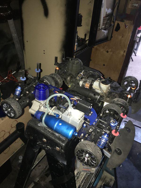 1/10 Rapid VH-A6 RC Nitro Car 4x4 drift rc