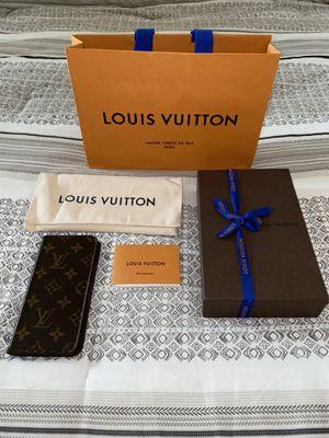 Louis Vuitton Folio Phone Case (iPhone 7 or 8 plus) for Sale in Kenosha, WI