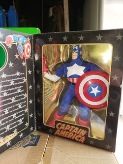 1998 Marvel Famous Covers Captain America for Sale in Los Angeles,  CA