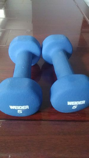 Weider - 5lb weights for Sale in San Jose, CA