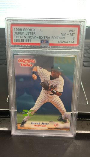 Rare PSA graded Derek Jeter baseball card for Sale in West Valley City, UT