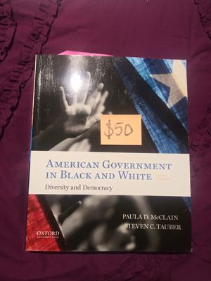 American Gov. In Black and White Textbook for Sale in Modesto, CA