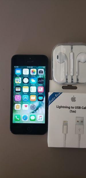 iPhone 5 factor unlock for Sale in Burlington, MA