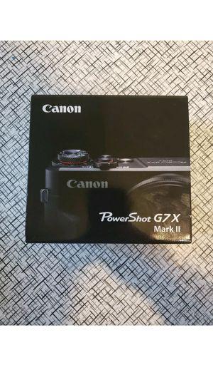 Canon G7x mark ii for Sale in Honolulu, HI