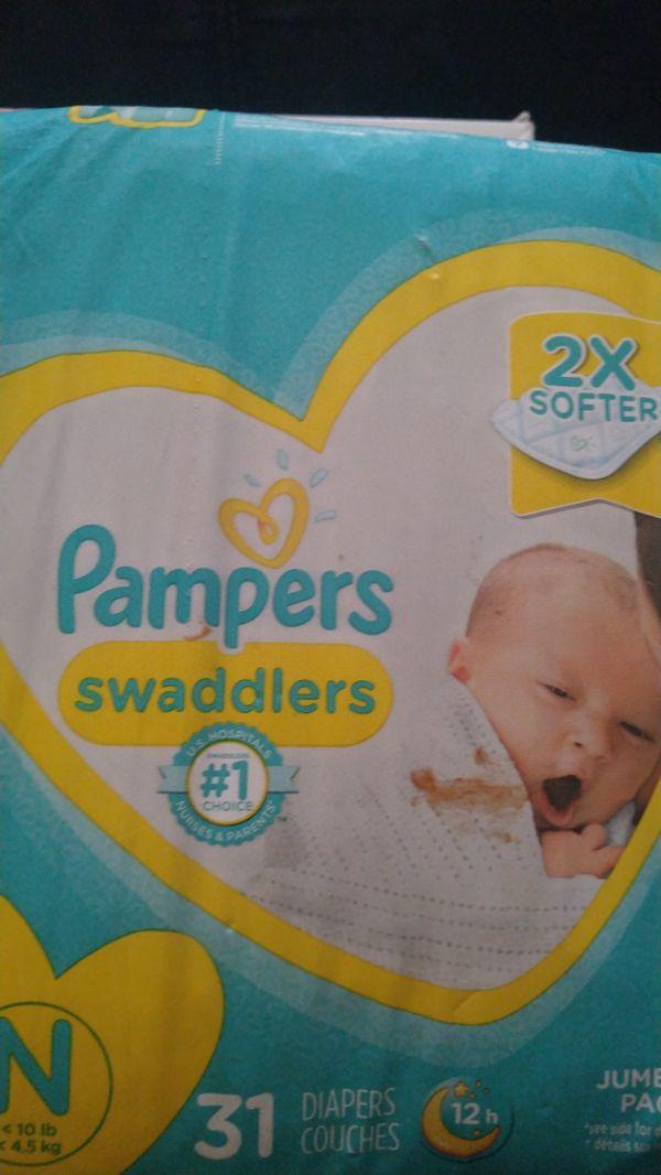 Newborn pampers