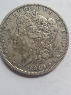 1884 Morgan SILVER DOLLAR VERY NICE DETAIL for Sale in Chicora,  PA