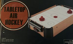Tabletop air hockey game for Sale in Plano, TX