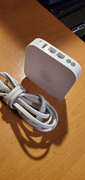 Apple AirPort Express A1392 Dual-Band WiFi Wireless Router for Sale in Rosemead, CA