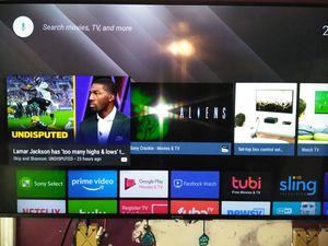 4K Sony 55' Bravia Android TV PLEASE READ DESCRIPTION! for Sale in Smoke Rise, GA