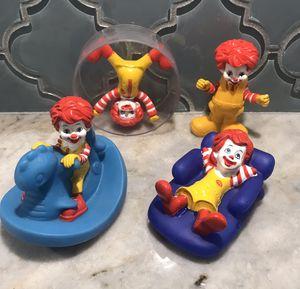 Ronald McDonald Figures, Set Of 4 for Sale in Odessa, FL