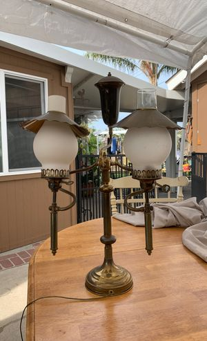 Brass antique lamp for Sale in Orange, CA